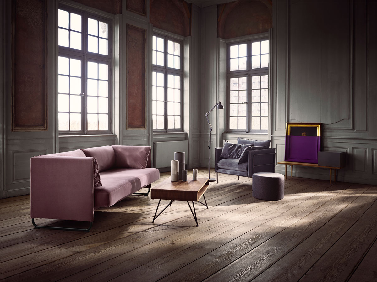 Mara Sofa   Pepe Sessel   Berlin Bank   Mariposa Couchtisch   Industry  Stehlampe   Earth